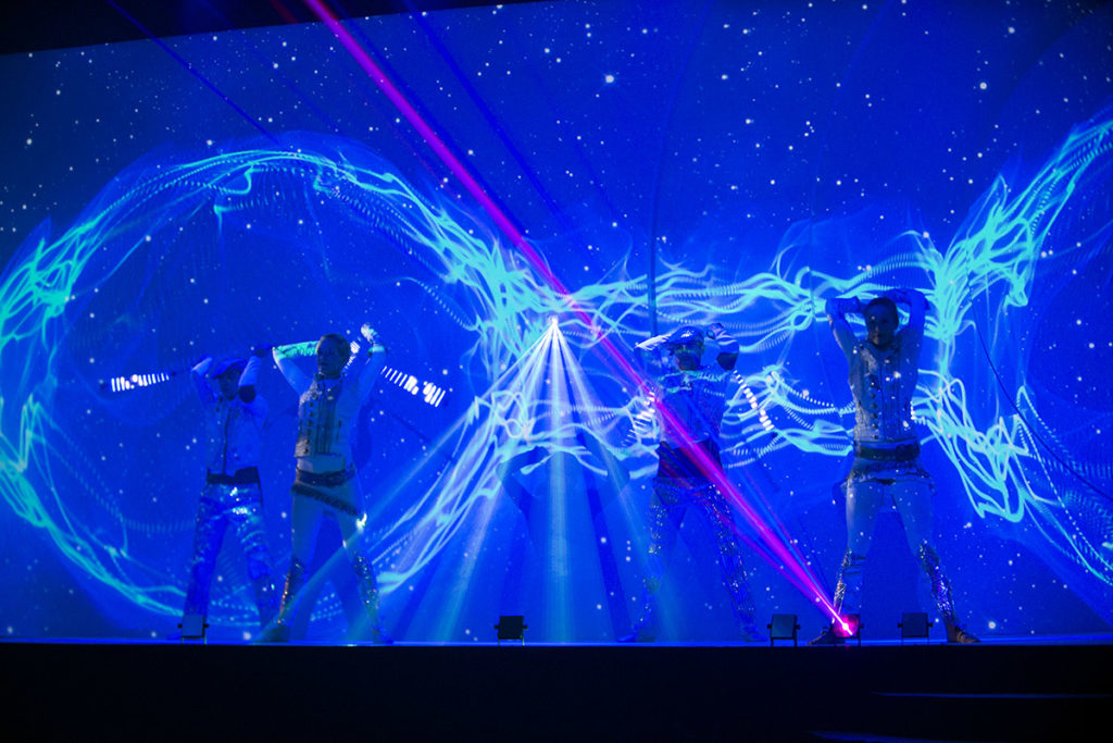 LM-Productions_Content_Projection_Laser_QNB_50th_anniversary_Qatar_National_Bank_Middle_East