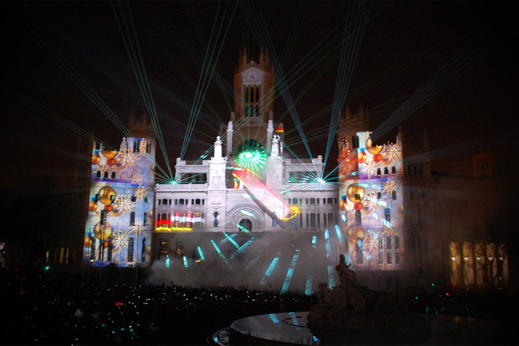 Lm-Productions_Projection_RGB_Show_Concert_Madrid_Spain_Feliz_Navidad
